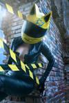 Celty Sturluson cosplay (Kzaka)