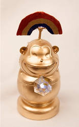 Rainbow Monkey Idol by Firered81