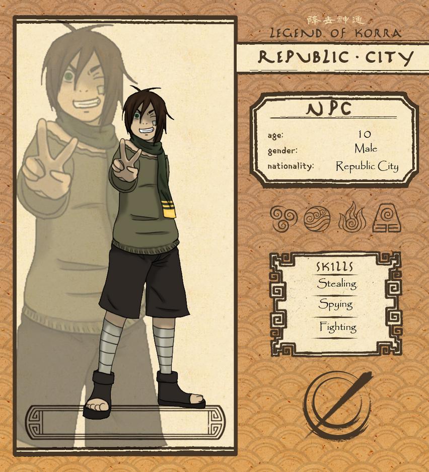 Republic City- Hijo by BrittXEdo