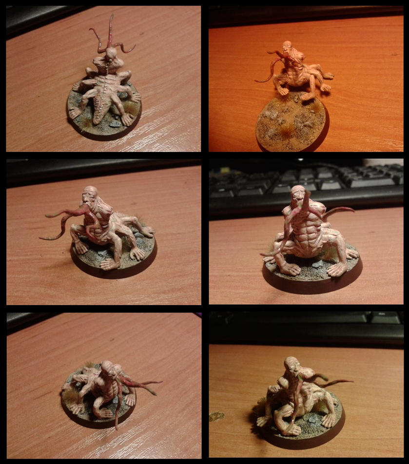 Fallout Centaur miniature by arti32167