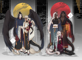 (OPEN) Adoptable auction #Family set by mimojiX