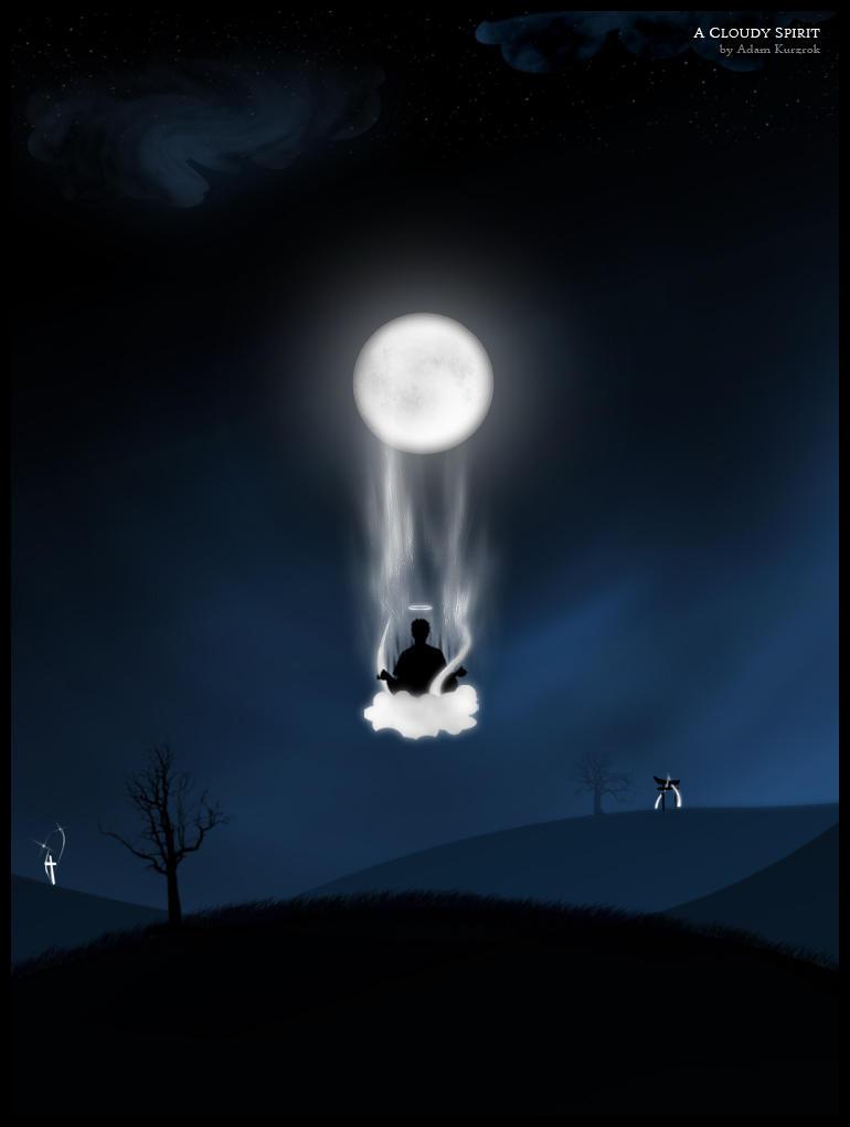 A Cloudy Spirit by jagged-r0cks