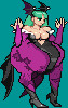 Morrigan Sprite edit by Joybug