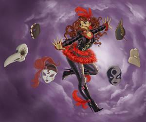 Scarlet Columbine by Kenichi-Kitsune