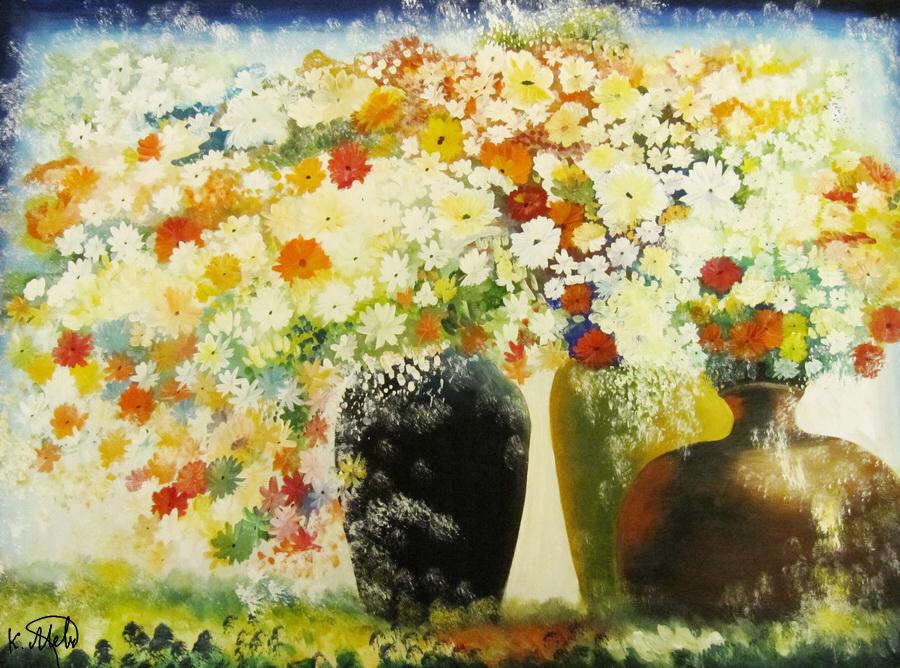 Still life 7: Flowers by Kaitana
