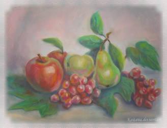 Summer fruits by Kaitana
