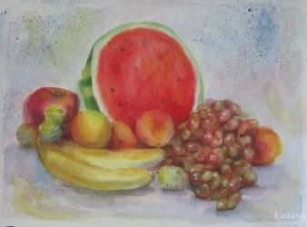 Stillife With Watermelon by Kaitana