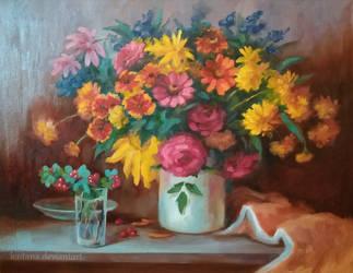 Flower mood by Kaitana
