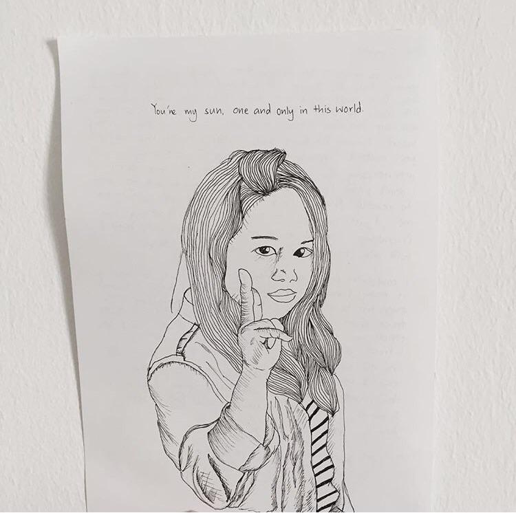 Portrait Friendly (2) by givemewaffles