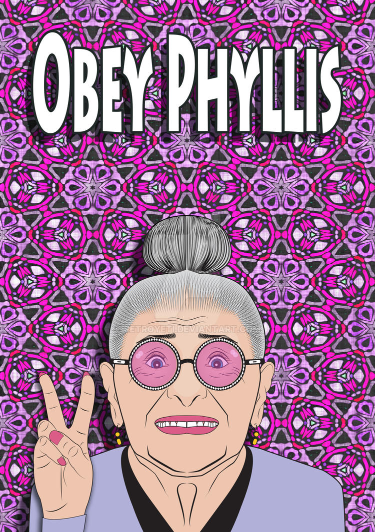 Obey Phyllis - Peace by RetroYeti