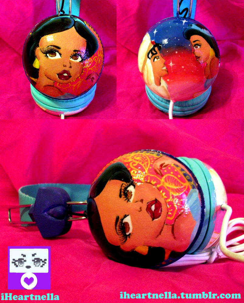 A whole new world Jasmine Headphones by Iheartnella