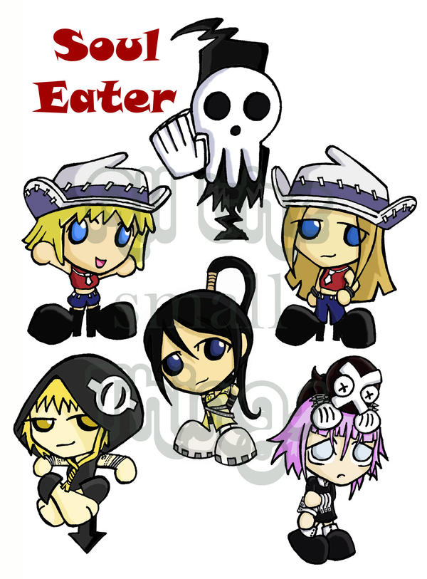 Soul Eater chibis part 2 by Kasandra-Callalily on DeviantArt