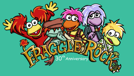 Fraggle Rock 30th anniversary by Kasandra-Callalily
