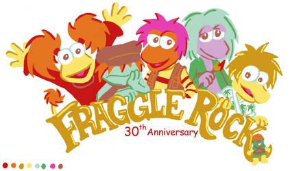 Fraggle Rock 30th anniversary version 2 by Kasandra-Callalily