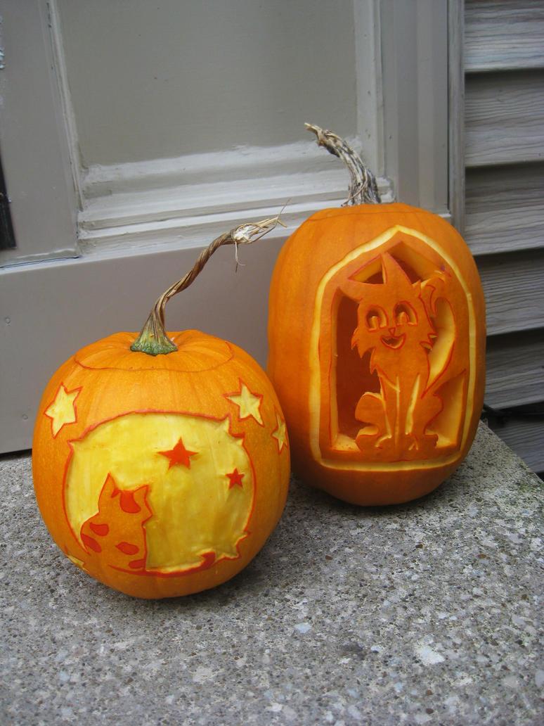 pumpkin carving 2014 by Kasandra-Callalily