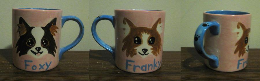Foxy Franky Mug by Kasandra-Callalily