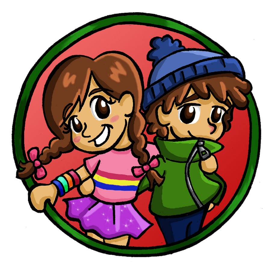little Mabel and Dipper by Kasandra-Callalily