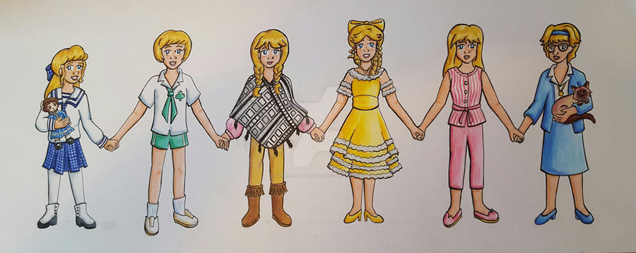 Hayley Mills through the years by Kasandra-Callalily