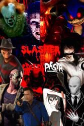 Slasher vs Creepypasta Poster