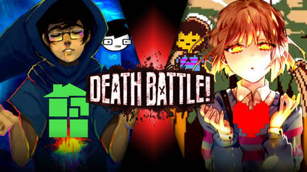 DEATH BATTLE|John egbert vs Frisk