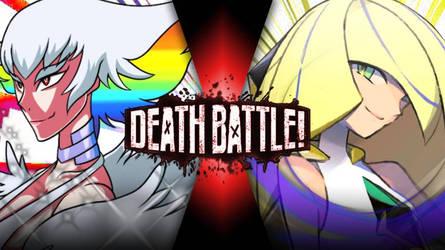 DEATH BATTLE|Ragyo kiryuin vs Lusamine