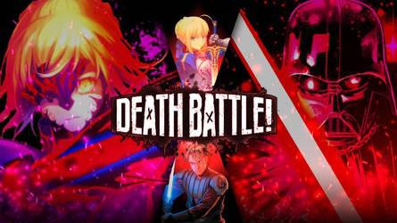 DEATH BATTLE|Saber alter vs Darth vader