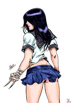 X-23 by DANNITH (Daniele Torres)  color by me .