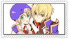 stamp jin x noel by Millia-Ky-Club