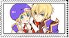 stamp jin x noel by Millia-Ky-Club