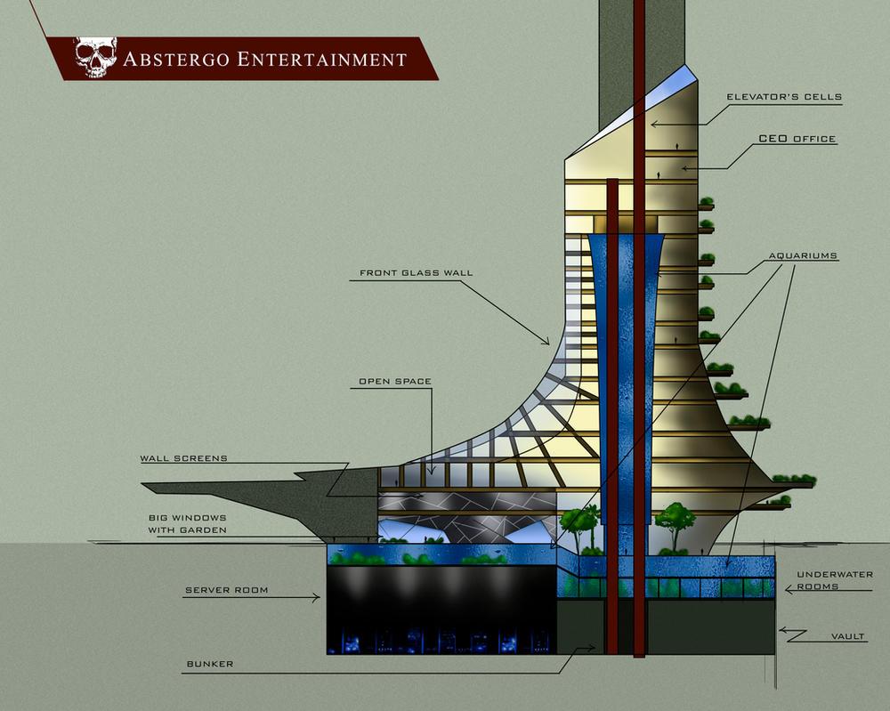 Edificio Abstergo by IvanHubo