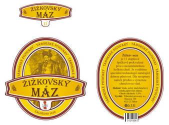 Zizkovsky maz - label beer by ollienek