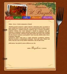 Webdesign fo Restaurant by ollienek