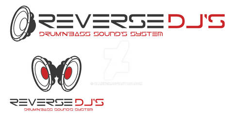 DNB Logo ReversDJ