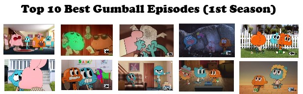 Top 10 Best Gumball Episodes (1st Season) by RaccoonBro