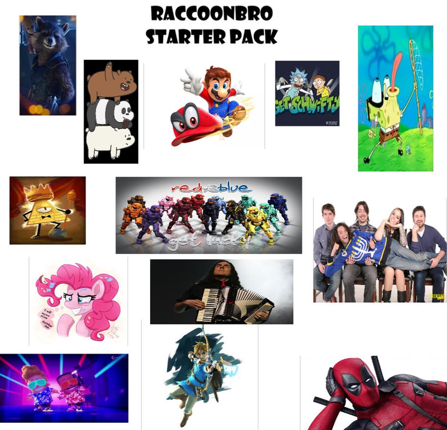 RaccoonBro Starter Pack by RaccoonBroVA