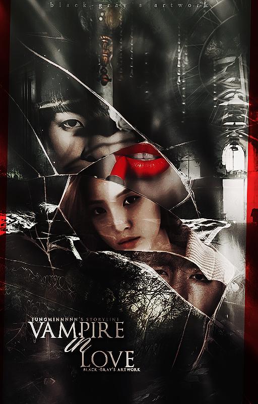 Vampire Book Cover Art : Vampire in love ft naeun jungkook taehyung by