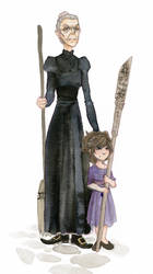 Equal Rites - Granny Weatherwax and Esk