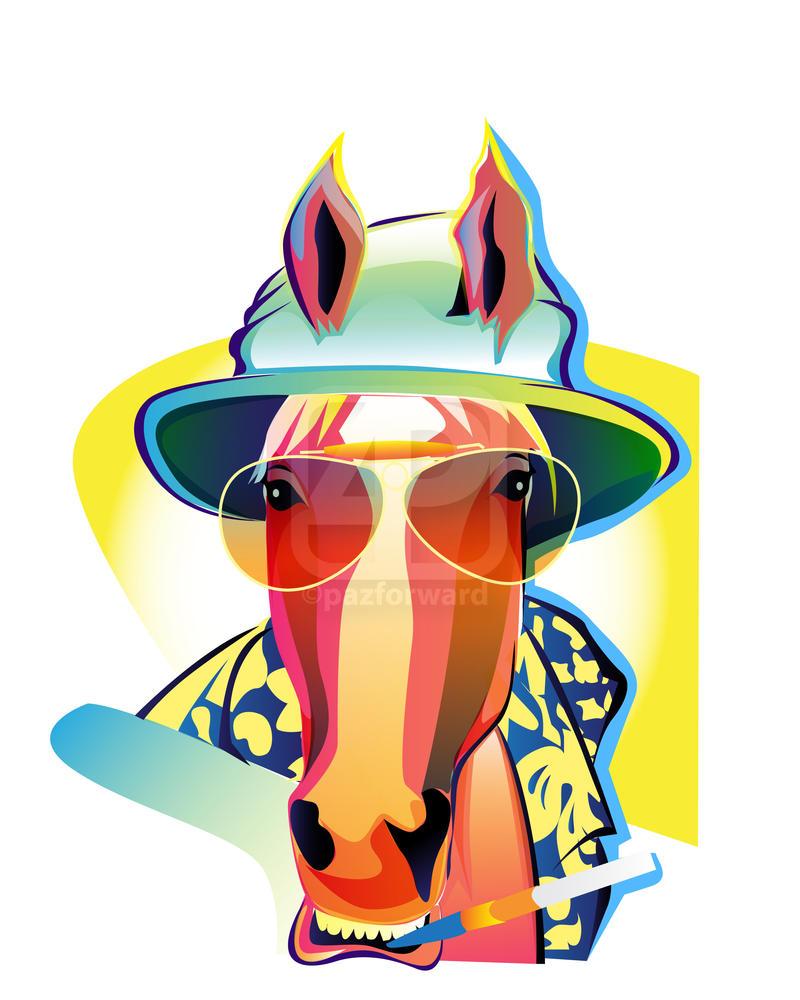 raoul duke inspired stallion by pazforward