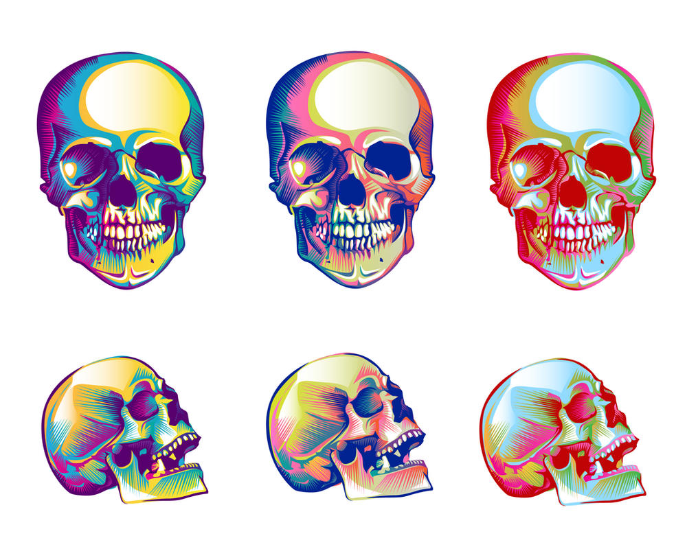 skulls by pazforward
