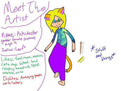 Meet the Artist! by achidester