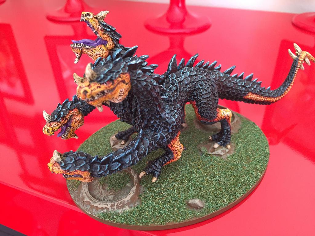 Cave drake/Hydra by AHPlonker on DeviantArt
