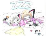 Mini Chibi-cat and Chan-chan