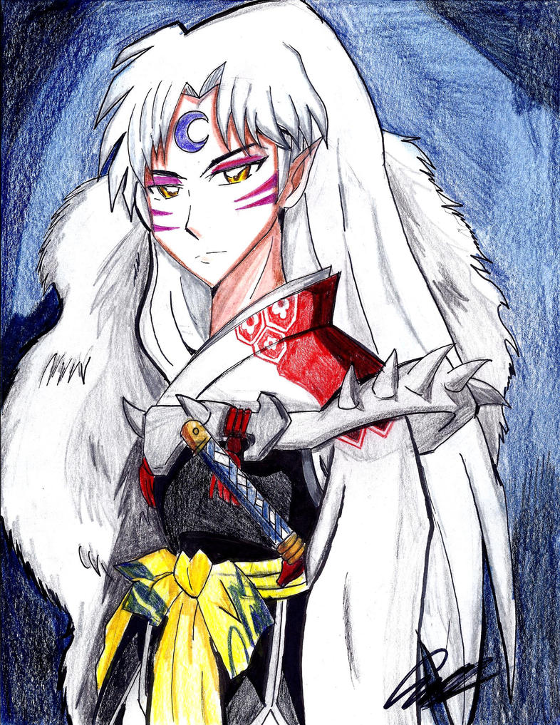 Sesshomaru by dulest9494