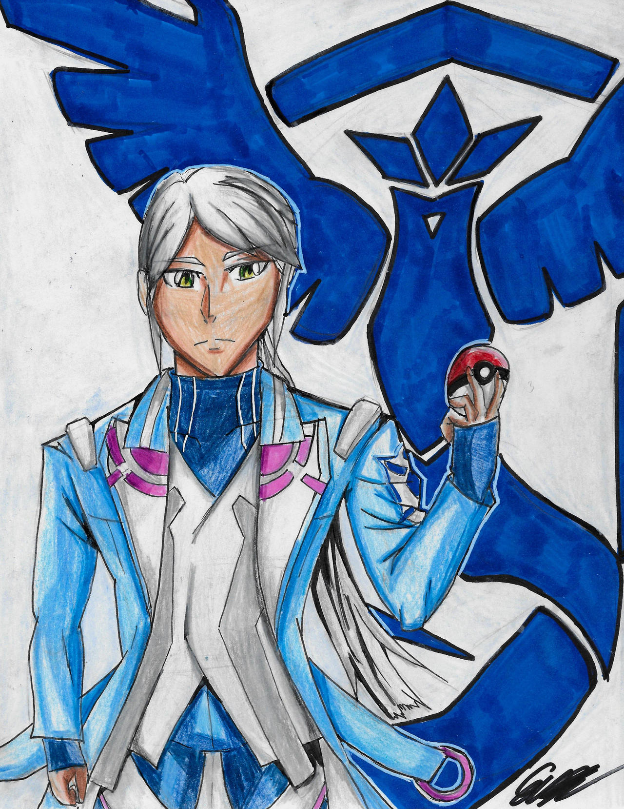 Blanche Pokemon Go Art