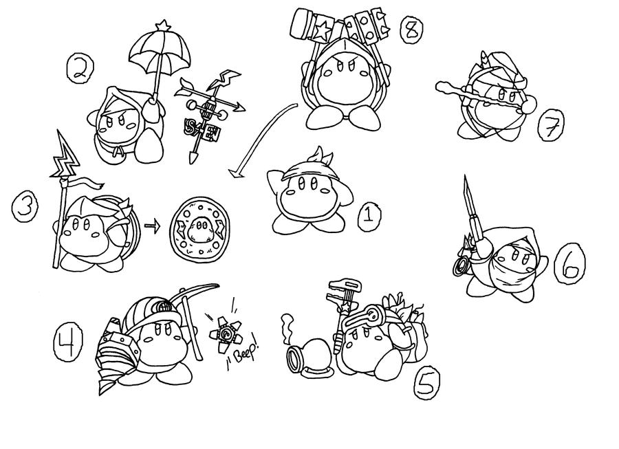 waddle dee coloring pages - photo #6