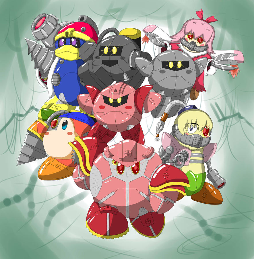 Mecha Kirby Ultimate by ChronoWeapon