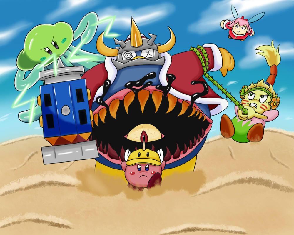 Kirby OoD Ch. 8 Scene - Lost King in a Vast Desert by ChronoWeapon