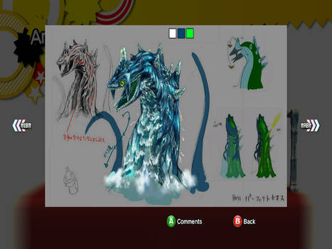 Perfect Chaos Concept art: Sonic Generations