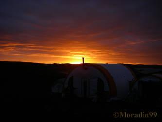 Bright sunset by Moradin99