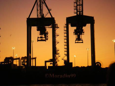 Port de Montreal - Grues de chargement